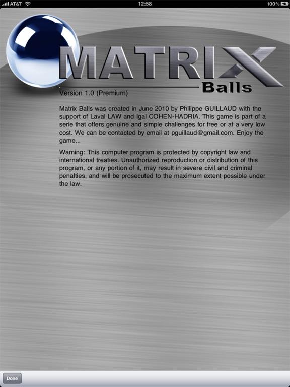 Скачать игру Matrix Balls