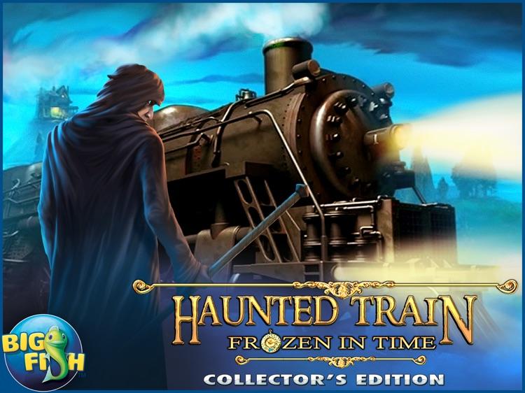 Haunted Train: Frozen in Time HD - Hidden Objects screenshot-4