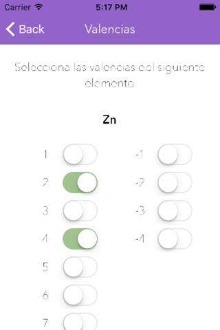 Formulación y Nomenclatura Inorgánica screenshot 4