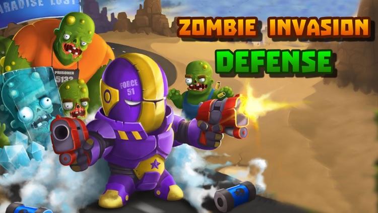 Zombie Invasion Defense screenshot-4