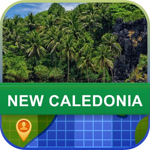 Offline New Caledonia Map - World Offline Maps