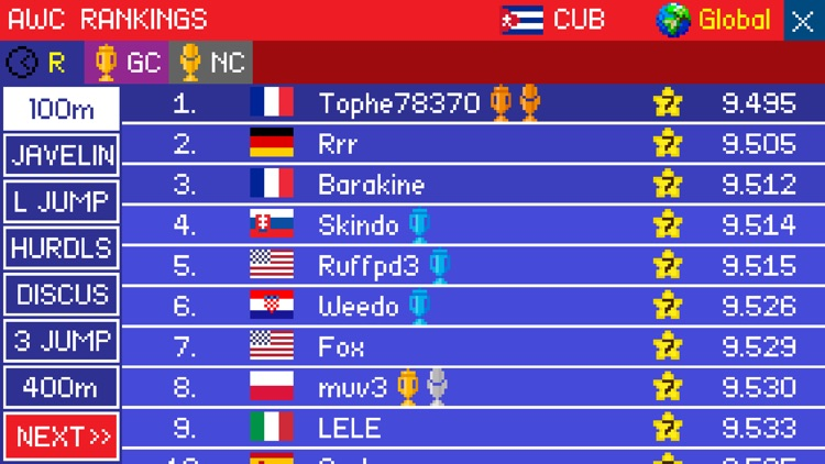 Athletics - World Challenge screenshot-3