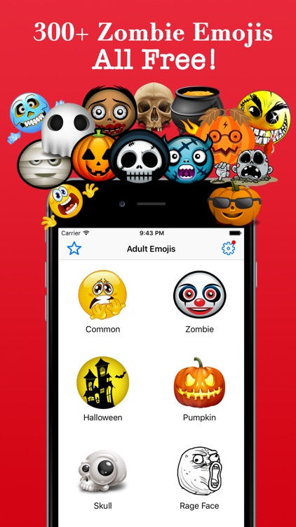 Zombie Emoji Horrible Troll Faces Spooky Emoticons screenshot-0