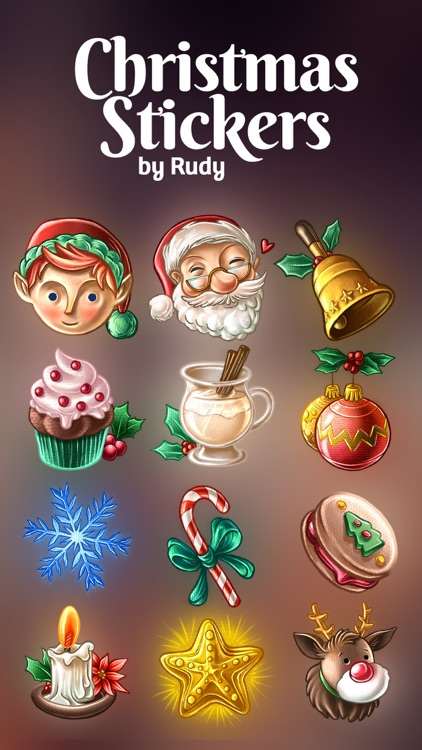Christmas Stickers by Rudy
