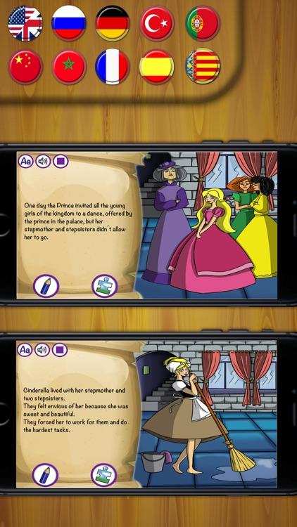 Cinderella - classic short stories book