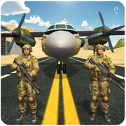 军队的囚犯运输机 2 — — 飞军事直升机 & 驾驶警车从航空母舰在这飞行模拟器游戏