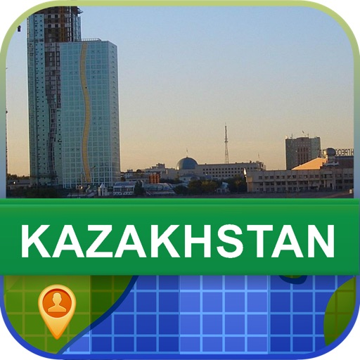 Offline Kazakhstan Map - World Offline Maps icon