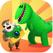 쥐라기GO - 공룡 사진 찍기 대모험 - 귀엽고 재미있는 공룡들을 발견하고 멋진 사진을 찍어보세요