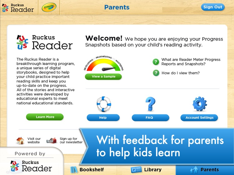 Crayola: Ruckus Reader screenshot-3