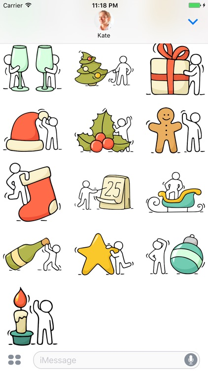 Christmas - Stickers for iMessage