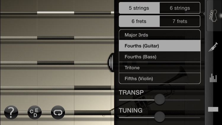 iFretless Brass screenshot-3