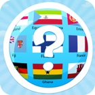 Flag quiz online, world flags game icon