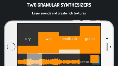 GrainProc: live granular synthesis Screenshots