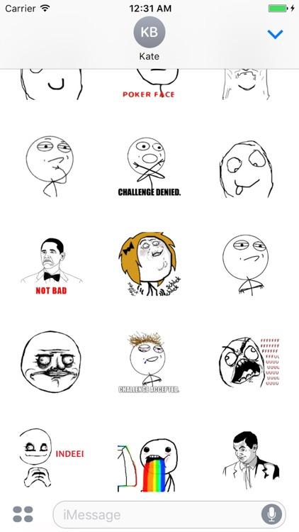 So Funny Meme Stickers screenshot-3