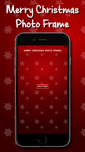 Merry Christmas Photo Frame on the App Store