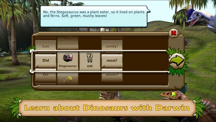 Dino Tales Español – aprende a leer a través del juego creativo screenshot-3