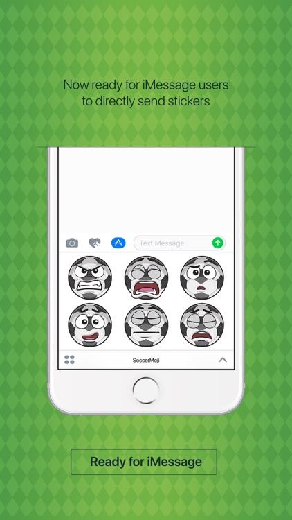 SoccerMoji - soccer football emoji & stickers app