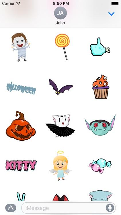 Halloween Cartoon Sticker