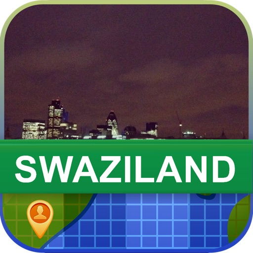 Offline Swaziland Map - World Offline Maps