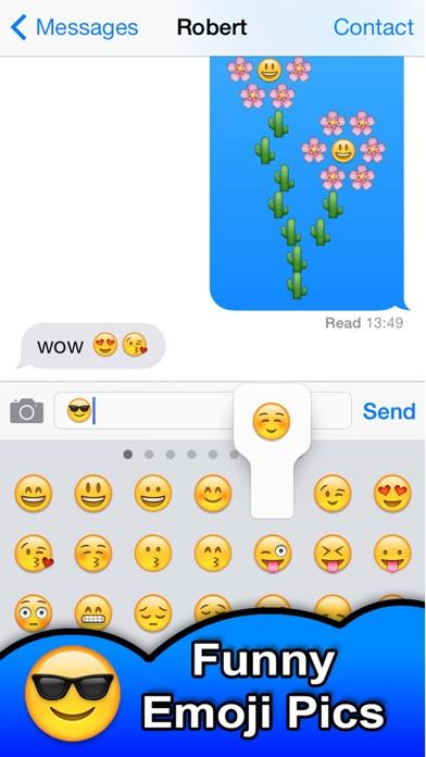 SMS Smileys Emoji Sticker PROのおすすめ画像5