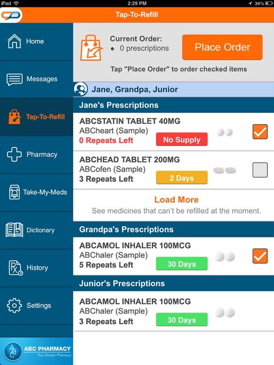 MedAdvisor for iPad screenshot-3