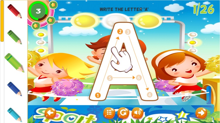 ABC Letters Tracing Practice Handwriting Preschool