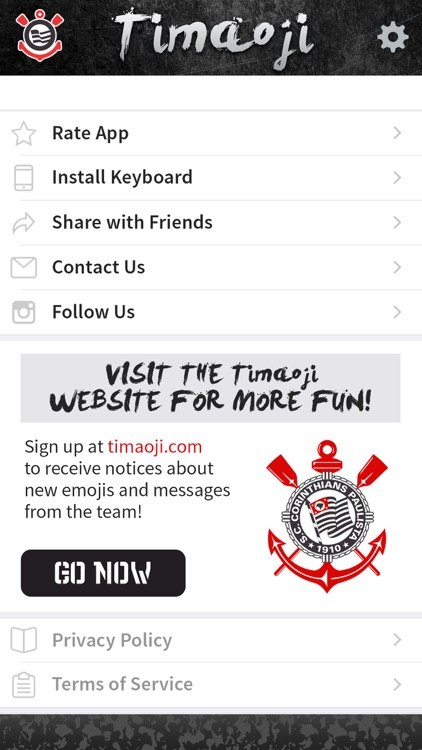 Timaoji - Official Corinthians Sticker App screenshot-3