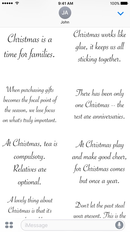 Christmas Quotes - A to Z Stickers screenshot-3
