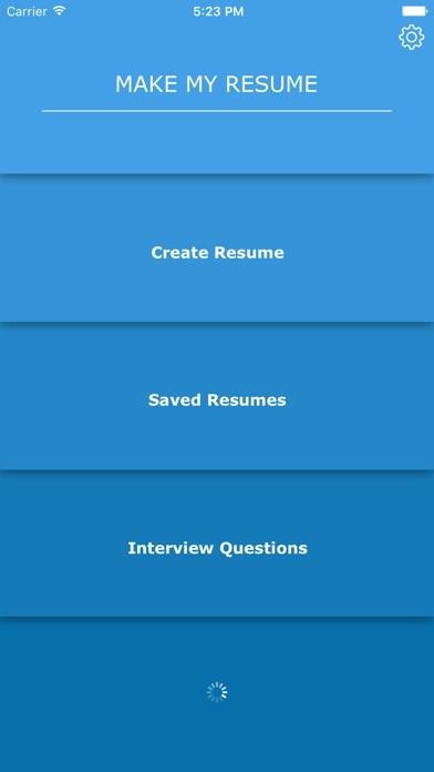 Make My Resume 苹果商店应用信息下载量 评论 排名情况 德普优化