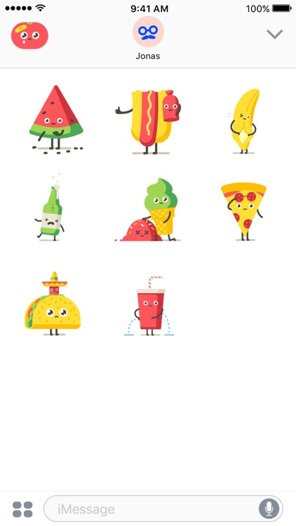 Moody Foodies – Animated Stickers screenshot-3