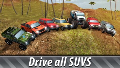 SUV Offroad Simulator 3D App 截图