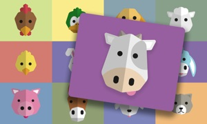 Farm Animals — See, hear & click the animals. For babies & kids aged 0-3 years.