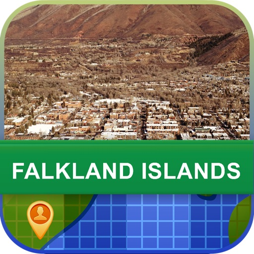 Offline Falkland Islands Map - World Offline Maps