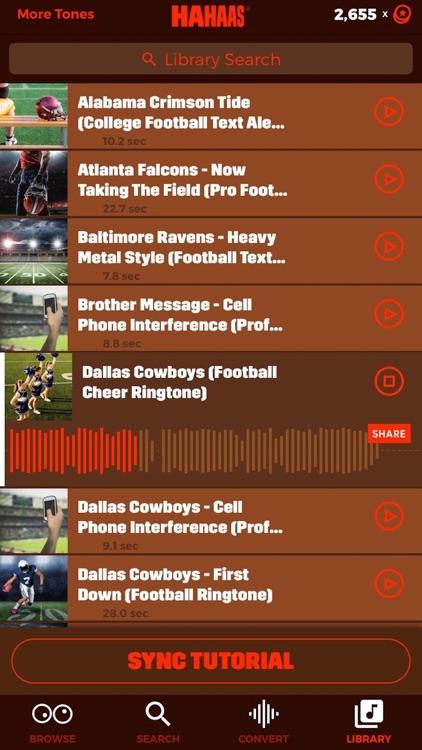 Football Ringtones® Free & Sports Text Alert Tones