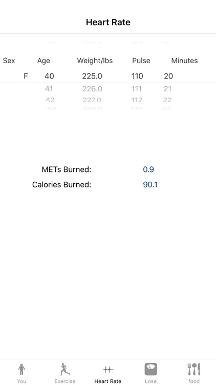 How Many Calories Calorie Calculator screenshot-2