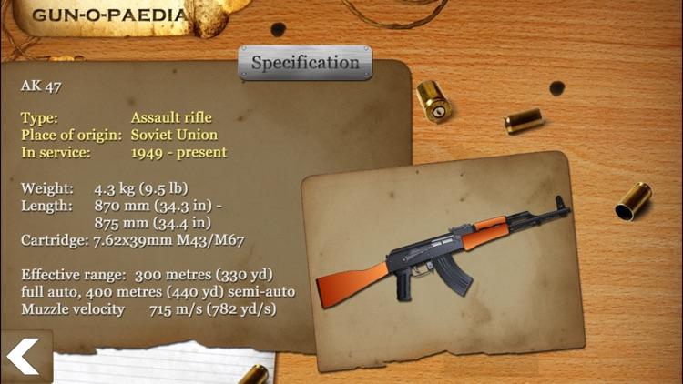 GUN CENTER Ultimate Gun Builder &Rifle Range Games screenshot-3