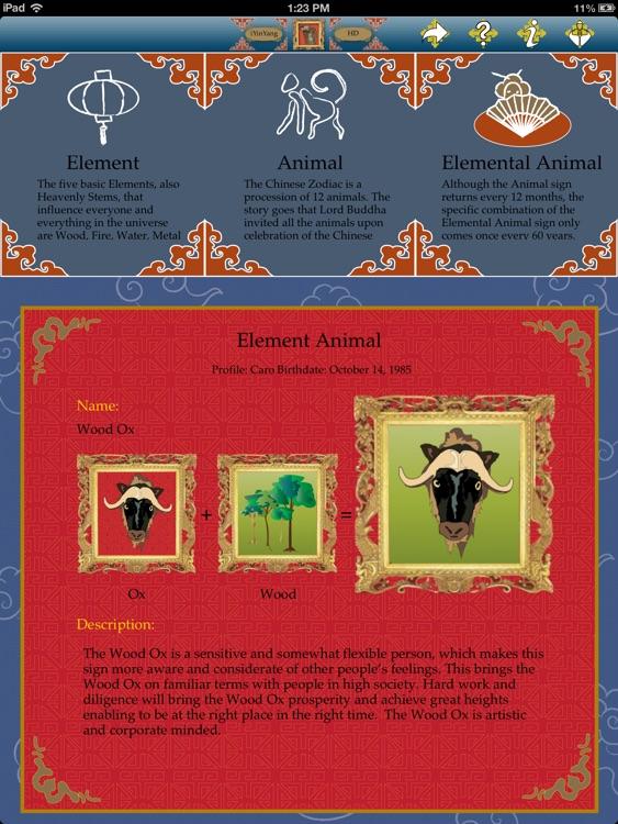 iYinYangHD - Chinese astrology screenshot-4
