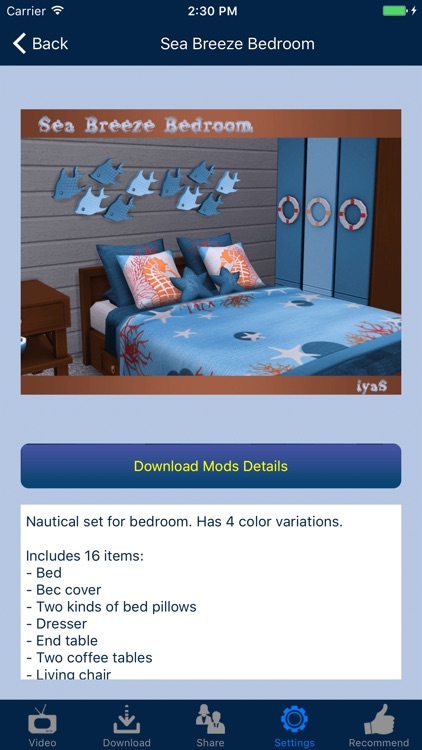 Home Design Mods for Sims 4 screenshot-3