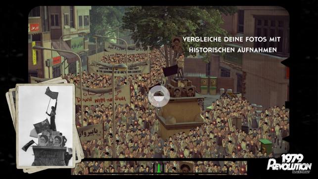 1979 Revolution: Ein filmisches Abenteuer Screenshot