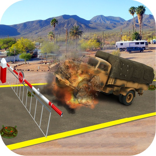 Commando Cargo Truck : 3D Deadly Track Ride