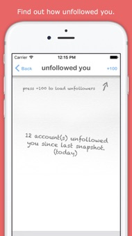 unfollow for Twitter - no ads iphone images