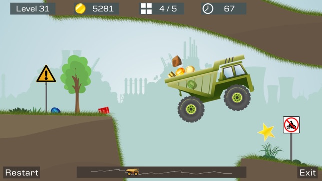 Big Truck -Mine Express Racing Screenshot