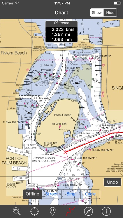South Florida – Raster Nautical Charts