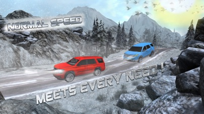 OffRoad 4x4 Luxury Snow Driving - Driver Simulator screenshot one