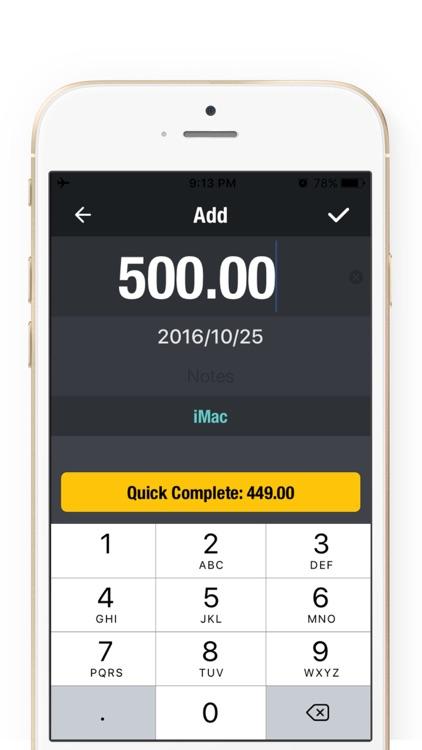 Saving Money Box 2Pro-Savings Account,Goal Tracker screenshot-3