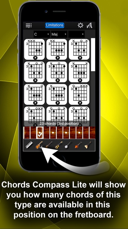 Chords Compass Lite: find piano chords and more! screenshot-3