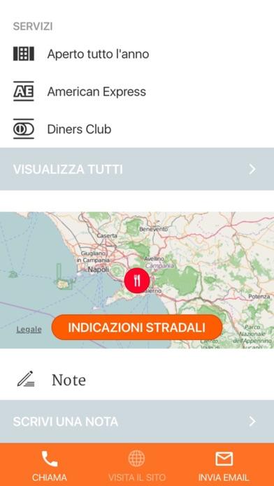 Screenshot of Campania – Dormire e Mangiare Touring4