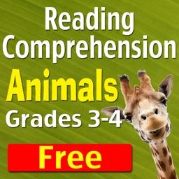 Reading: Grades 3-4, Animals-Free