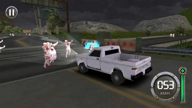 Zombie Escape-The Driving Dead screenshot-3