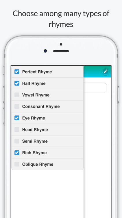 Rhyme Dictionary by Rhyme Time